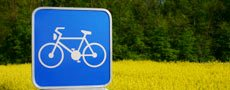 Cycling sign feature 2 tr