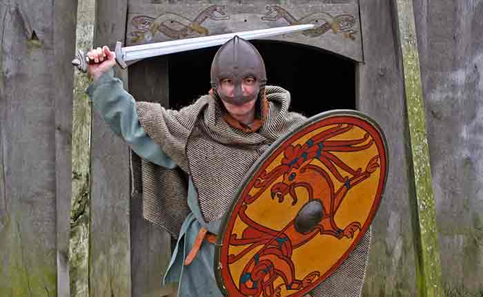 Image - travel writer Jeremy Head discovers his inner Viking