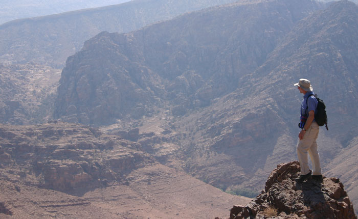 Image - Petra trek - amazing desert views