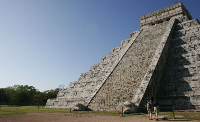 Image - Chichen Itza the great pyramid known as El Castillo
