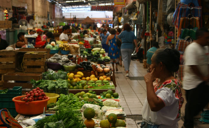 Image - Municipal market Merida, Mexico.