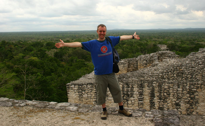 Image - Mexico holidays: On top of the Mayan temple at Calakmul
