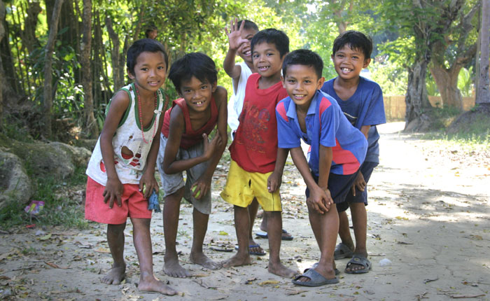 Image - Filipino kids, Palawan, the Philippines.