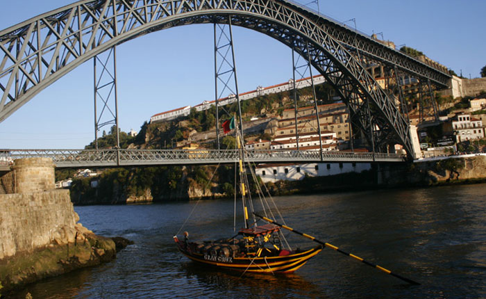 Image - Porto - the famous iron bridge