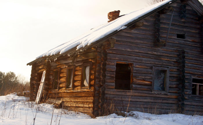 Image - Karelia - an abandoned house at Pigirma.