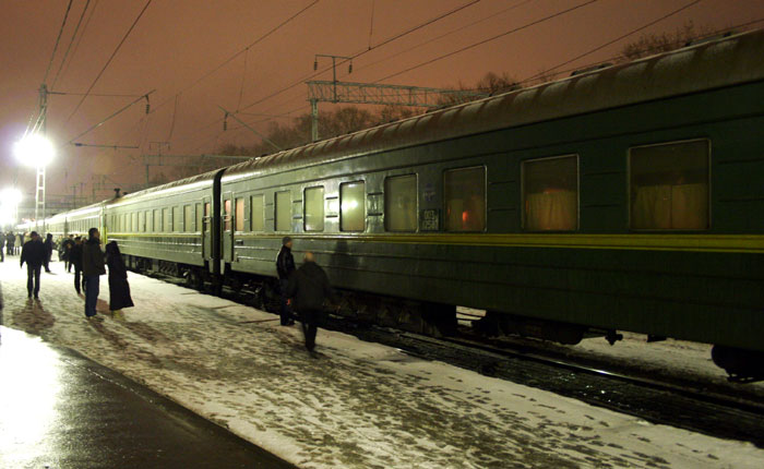 Image - Russia - train from Moscow to Petrozavodsk