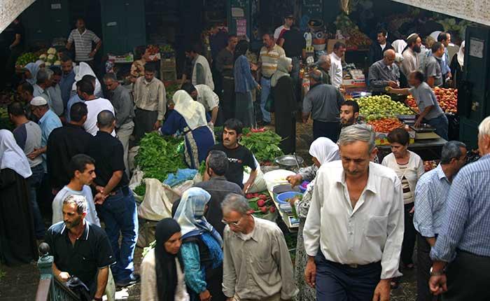 Image: Palestine - Bethlehem market